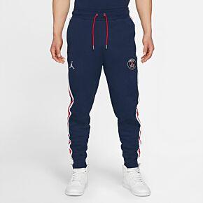 21-22 PSG x Jordan Fleece Pants - Navy/White