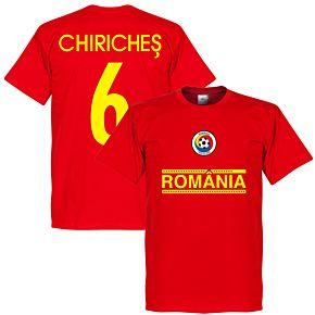 Romania Chiriches 6 Team Tee - Red