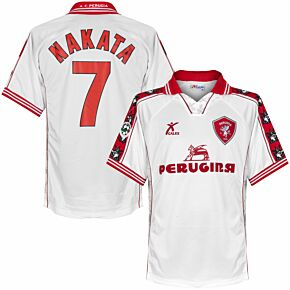 Galex AC Perugia 1999-2000 Away Jersey - NEW Condition - Nakata 7 Match Issue - Size XL