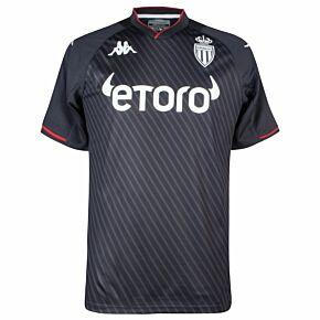 21-22 AS Monaco Away Shirt