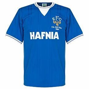 1984 Everton Home FA Cup Final Retro Shirt