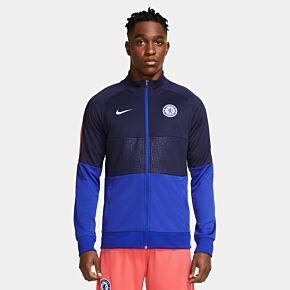 20-21 Chelsea UCL I96 Anthem Jacket - Blue
