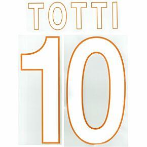 Totti 10 (Fan Style) 13-14 Roma Home