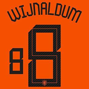 Wijnaldum 8 (Official Printing) - 20-21 Holland Home
