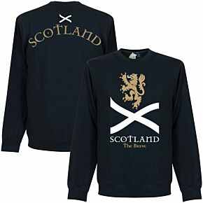 Scotland the Brave Sweatshirt  - Navy