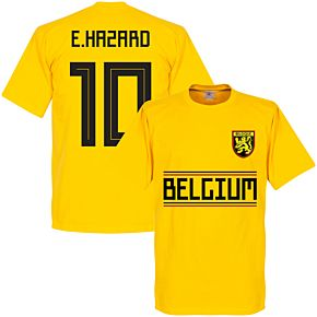 Belgium Hazard 10 Team Tee - Yellow