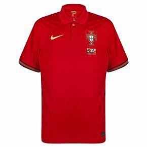 20-21 Portugal Home Shirt + 2020 Transfer