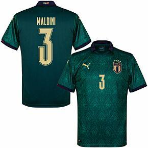 19-20 Italy Renaissance 3rd Shirt + Maldini 3 (Official Printing)