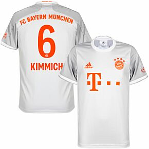 20-21 Bayern Munich Away Shirt + Kimmich 6 (Official Printing)