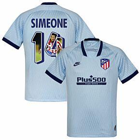 Nike Atletico Madrid 3rd Simeone 14 Jersey 2019-2020 (Gallery Printing)