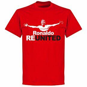 Ronaldo Re-United T-shirt - Red