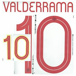Valderrama 10 (Official Printing) - 21-22 Colombia Home