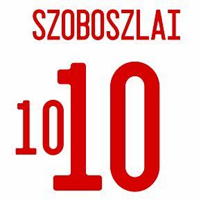 Szoboszlai 10 (Official Printing) - 21-22 Hungary Away