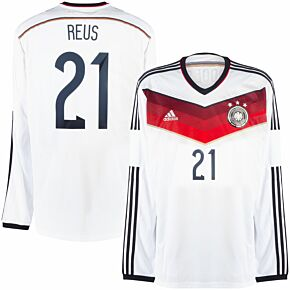 adidas Germany Home L/S Reus 21 Shirt  - NEW Condition - Size L
