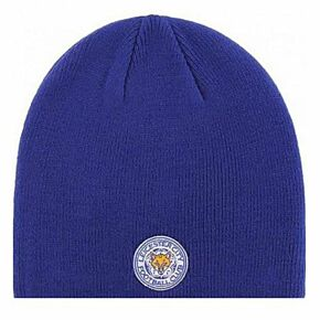 Leicester City Knitted Hat - Royal