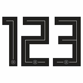 18-19 Germany Home Back Numbers (260mm)