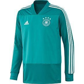 adidas Germany Training Top - Green/White 2018-2019