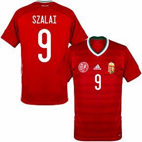 20-21 Hungary Home Shirt + Szalai 9 (Official Printing)