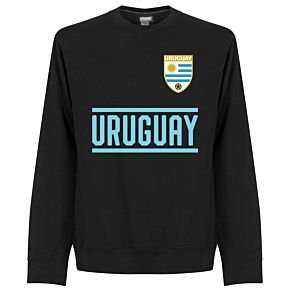 Uruguay Team Sweatshirt - Black