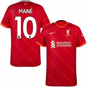 21-22 Liverpool Dri-Fit ADV Match Home Shirt + Mane 10