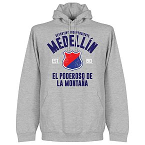 Independiente Medellín Established Hoodie - Grey