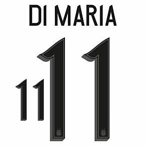 Di María 11 (Official Printing) - 20-21 Argentina Home