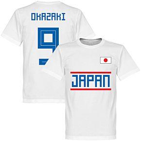 Japan Okazaki 9 Team Tee - White