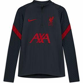 20-21 Liverpool Kids Strike Drill Top - Black