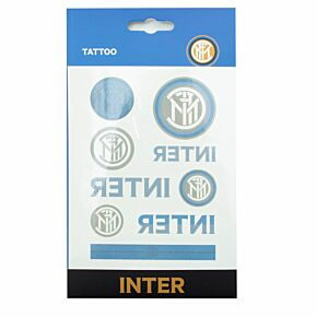 Inter Milan Temporary Tattoos (9 in Pack )