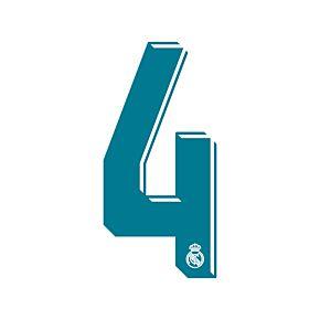 4 (La Liga Shorts Number)
