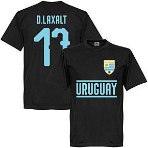 Uruguay Team D. Laxalt 17 Tee - Black