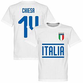 Italy Chisea 14 Team T-Shirt - White