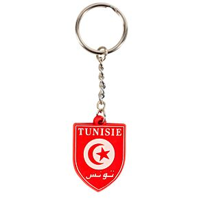 Tunisia Rubber Keyring