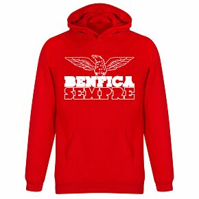 Benfica Sempre KIDS Hoodie  - Red
