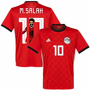 Egypt Home M. Salah Jersey 2018 / 2019 (Gallery Style Printing)
