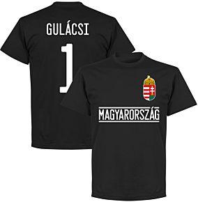 Hungary Gulácsi 1 Team T-Shirt - Black