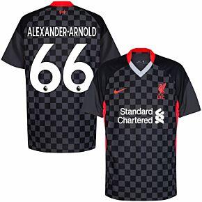 20-21 Liverpool 3rd Shirt + Alexander-Arnold 66