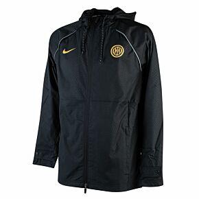 21-22 Inter Milan GX All-Weather Jacket - Black/Gold