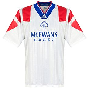 adidas Glasgow Rangers 1992-1994 Away Jersey - USED Condition (Good) - Size Large