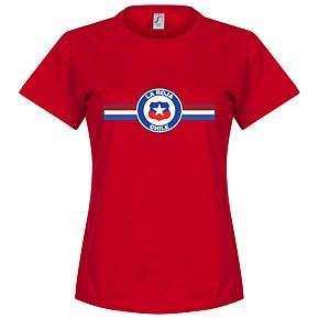 Chile Vidal Womens Tee - Red