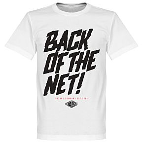 Retake Back of the Net! Tee - White