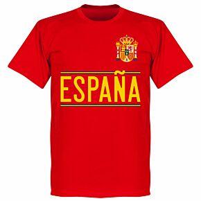 Spain 2020 Team T-Shirt - Red