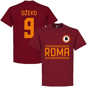 AS Roma Džeko 9 Team Tee - Red
