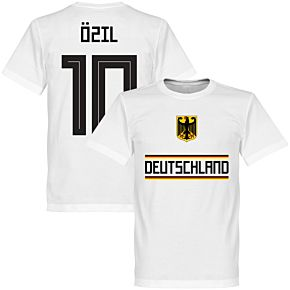 Germany Özil 10 Team Tee - White