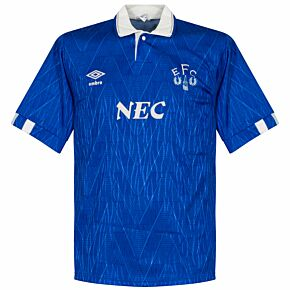 Umbro Everton 1989-1991 Home Shirt - USED Condition (Great) - Size S