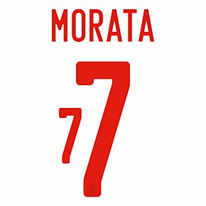Morata 7 (Official Printing) - 20-22 Spain Away