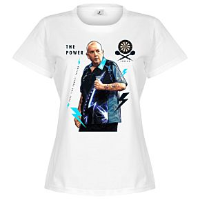 Phil The Power Taylor Womens Tee - White