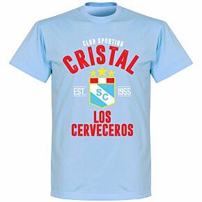 Sporting Cristal Established T-Shirt - Sky