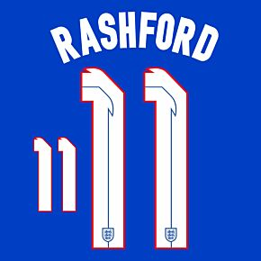 Rashford 11 (Official Printing) - 20-21 England Away