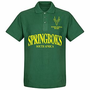 S.A. Rugby 2 Polo Shirt - Bottle Green